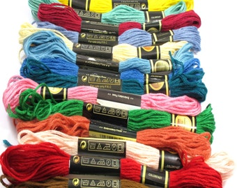 8 Meters Embroidery Floss Cotton Moulina Yarn, Wrap Cord, String Cord, Suitable For Making Jewerly And Clothing Embroidery, Soft Yarn 8mm