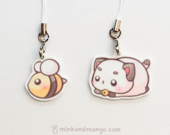 Bee and Puppycat Charms