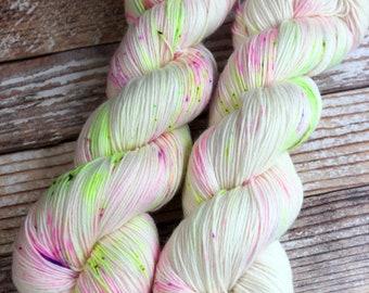 Isabel - Blossoms - Hand Dyed Yarn - 75/25 Superwash Merino/Nylon