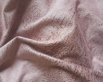 faux suede pink 25 x 145 cm