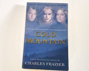 Cold Mountain by Charles Frazier  Trade Paperback  Romance/Drama
