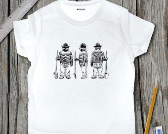 Smokey The Bear Sketch T-Shirt | SketchTee