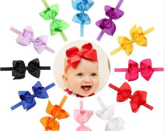 Bow Headband, Ribbon Headband, Ribbon Bow Headband, Hair Accessory, Toddler Headband, Baby Headband, Girls Headband, Infant Headband
