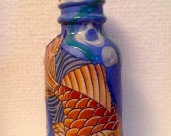 Koi fish Keepsake bottle