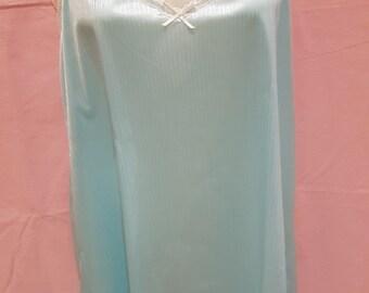 Aqua Satin chemise