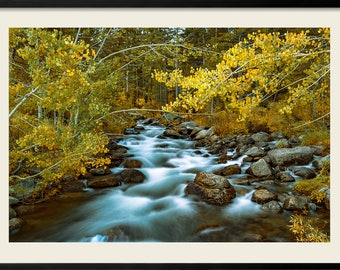 Bishop, California Photography, River Fall Photography