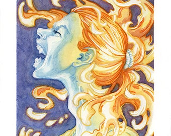 Banshee, Original Illustration
