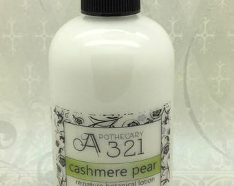 Cashmere Pear Re:Nature Botanical Vegan Lotion Natural Paraben Free Lotion