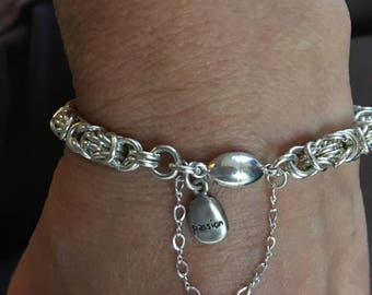 Sterling Silver Chainmail Bracelet