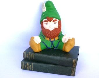 Vintage LARGE GARDEN ELF Figurine