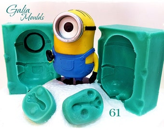 Stuart the Minion...3D Silicone Mould 61