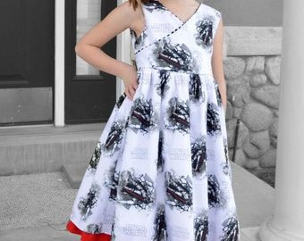 Star Wars Dress, The Force Awakens, Girls