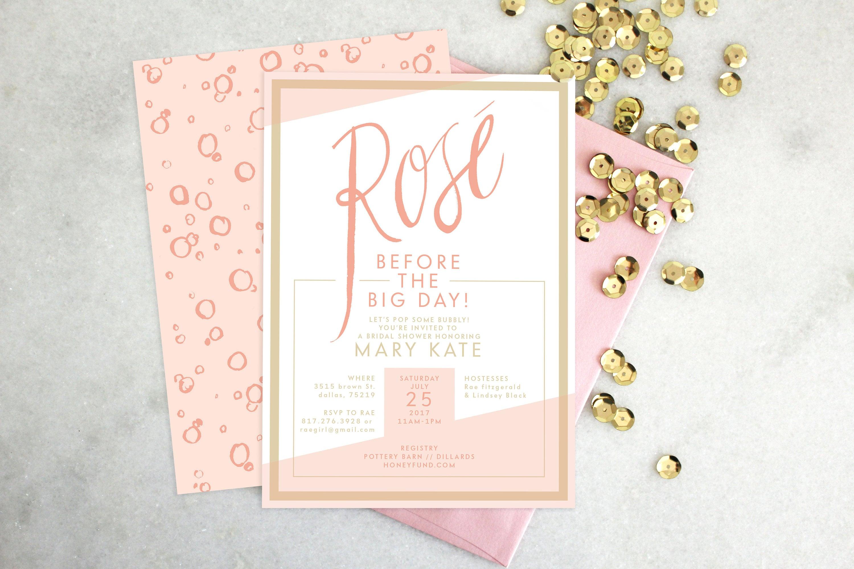 registry shower bridal honeymoon invitation wording