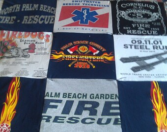 Personalized T-Shirt Quilt or Throw