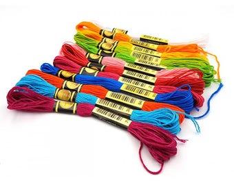 12 skeins 8 m Fun cotton yarn