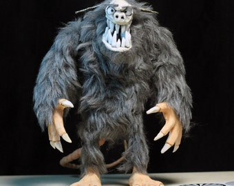 "Rigged Stop-Motion Animation Puppet/Figure ""Ratman"" - Made to Order"