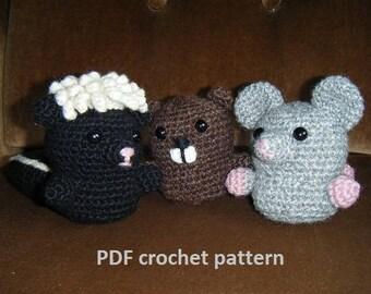 Forest Dwellers vol.3 - crochet pattern PDF