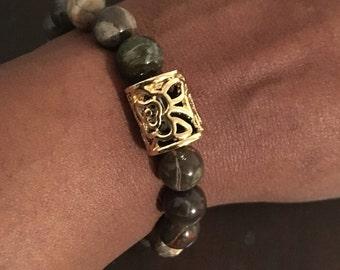 10mm Jasper stretch bracelet