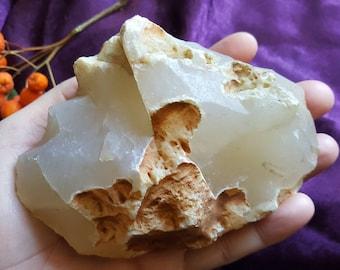 Huge Chalcedony Agate / Nurturing stone / Reiki / Harmony Stone / Raw Agate / Raw Chalcedony / Root Chakra / Healing Crystals / Raw Specimen