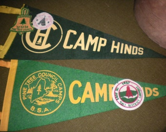 Boy Scout Pennants and Patches