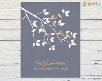 GIFT for GRANDPARENTS, Gift from Kids, Gift from Grandkids, Gift for Grandma Grandpa, Our Grandchildren, Nana Gift, Papaw Gift