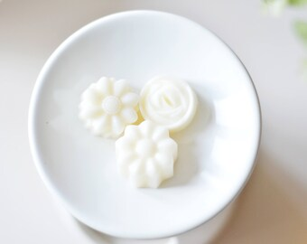 LEMON soy wax melts for oil burner natural eco friendly soy wax flowers shaped oil burner citrus fragrance oil melts