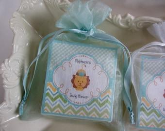 Baby Shower Favors, Baby Boy, Lion Prince, Shower Favors, Soap Favors, set of 10