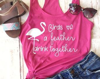 Bachelorette Party Shirts - Flamingo Bachelorette Party - Bachelorette Cruise  Shirts - Beach Theme Bachelorette - Bachelorette Party