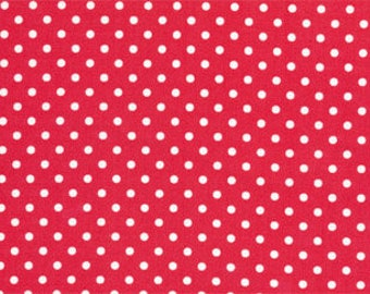 Tanya Whelan - Delilah - Dots Red by FreeSpirit Fabrics Cotton Quilting Fabric by meter (1.1 yard)