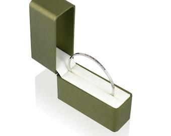 Flee From Temptation Cuff - Religious Jewelry - Stacking Bracelet - Bangle Bracelet - Adjustable Bracelet - Stainless Steel Bracelet