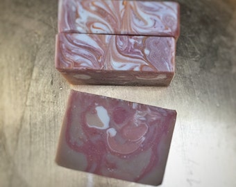 Marzipan || Artisan Soap || Handmade Soap || Lush Dupe || Cold Process Soap || Vanilla Soap || Handcrafted Soap || Olive Oil Soap ||