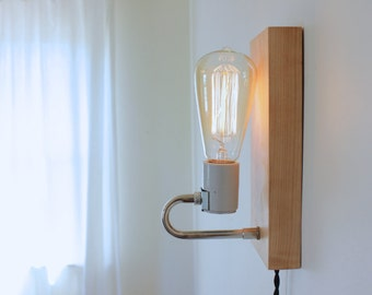 Johnny-Do-It-All table and wall lamp