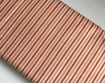 Witch Stripe Halloween Orange - Riley Blake Cotton Woven fabric by the yard sewing quilting