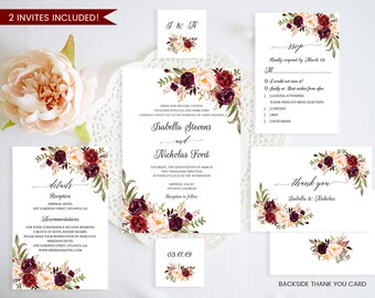 Wedding invitation template etsy best selling items favorite favorited add to added wedding invitation template stopboris Images