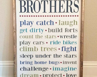 Brothers sign