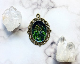 Haunted House Pendant