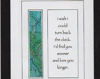 Turn back the clock love