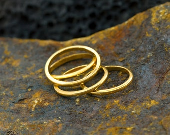 Midi Ring, 14kt Gold Knuckle Ring, Simple Band, Dainty Ring,Plain band,Toe Ring, SIZE 5