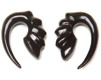 Horn Gauges |  8g plugs | 8 Gauge Earrings | 6 Gauge Earrings | Gauges | 6g plugs | Ear stretchers | Hanging Gauges | Plugs | Ear Plugs
