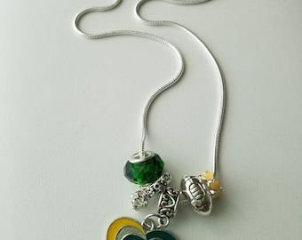Oregon Ducks Pandora Style Necklace