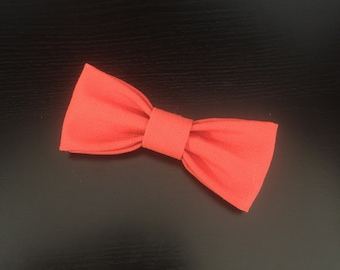 Orange Bow-tie