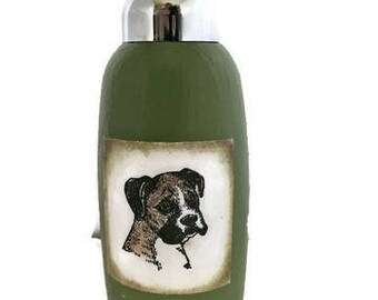 A House is Not a Home without a Boxer Glass Foaming Soap Dispenser Pump for Kitchen or Bathroom Sinks