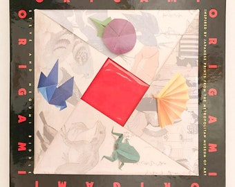 Origami pattern book kit/origami kit/origami paper/learn origami book/paper folding/japanese paper folding/
