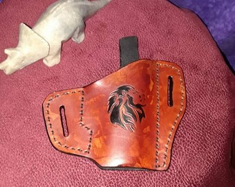 Lion Hip Holster