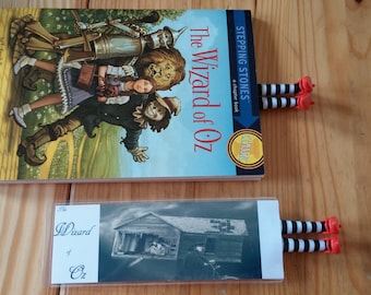 Wizard of Oz Bookmark  black and white