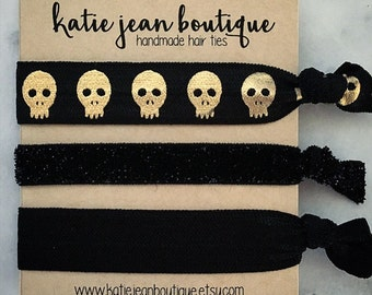 """Elastic Hair Ties - The """"Lexi"""" Collection"""