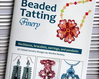"Shuttle Tatting book ""Marilee's Beaded Tatting Finery"""