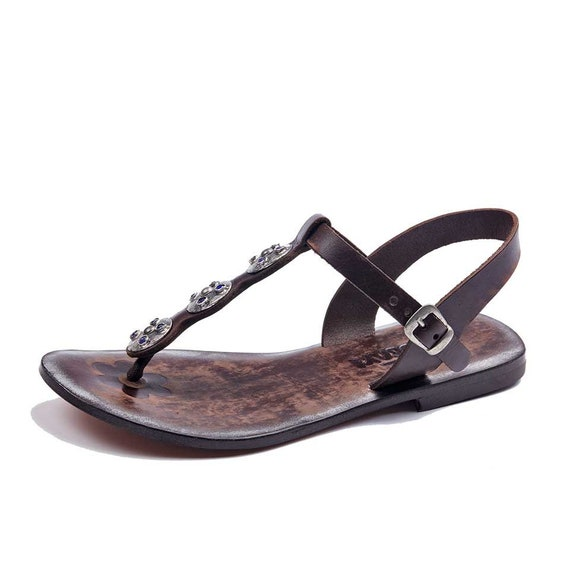 124e5d88e96b0 Womens Sandals Leather Sandals sandals Summer Comfortable Leather ...