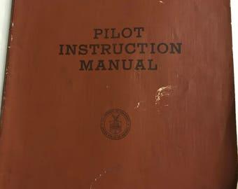 Pilot Instruction Manual 1958