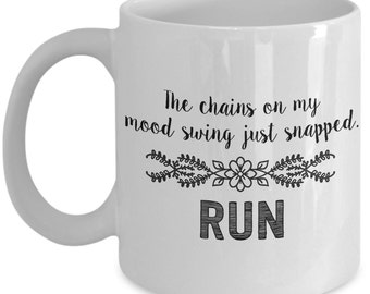 Funny Mom Mug - Chains On My Mood Swing... - Mother's Day Gift